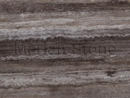 Titanium Silver Travertine (MS-T53)