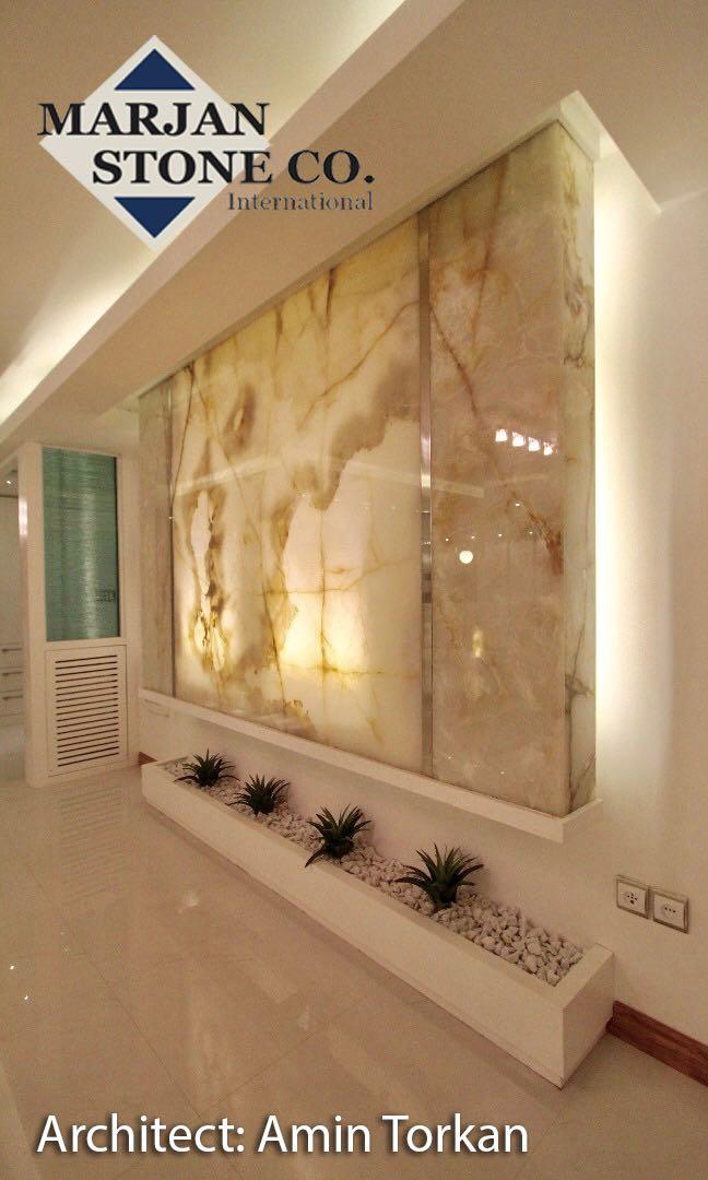 uses of stone in interior design