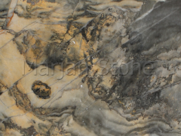 Mármol madera dorada (MS-M44)